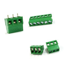 20 x 3 Pin 5mm PCB Universal Screw Terminal Block Connector 300V 16A GS007S