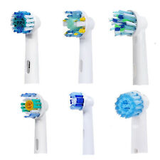 4pcs For Braun Oral B Vitality Compatible Toothbrush Replacement Heads