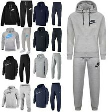 Nike Air Mens Zip Up Hoody Hooded Sweatshirt Top Sports Pants Jogger Tracksuit