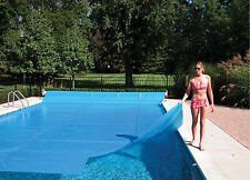 8 Mil Heavy Round, Oval & Rectangle Swimming Pool Solar Blanket Heater Covers