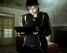Rooney Mara Poster or Photo the Girl with the Dragon Tattoo with Computer