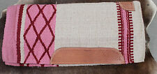 Wool Western Show Horse Trail SADDLE PAD Rodeo Blanket Tack  38100