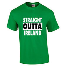 St. Patrick's Day T Shirt Straight Outta Ireland St. Paddy's Day Tee Funny Humor