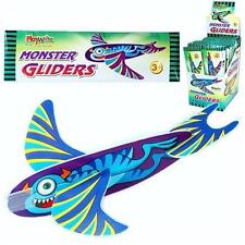 Flying Monster Glider Boys Girls Kids Party Bag Loot Birthday Great Retro Toy!