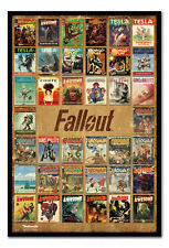 Fallout Magazine Compilation Magnetic Notice Board Includes Magnets