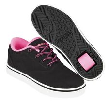 Heelys Launch  - Black / Neon Pink / White  Shoes +FREE HOW TO DVD