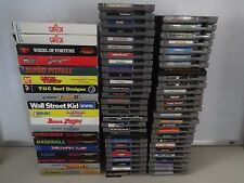 Huge SELECTION Nintendo Original NES Video GAME Cartridges Many Complete IN BOX