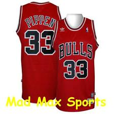 SCOTTIE PIPPEN Chicago BULLS Red THROWBACK Swingman HARDWOOD CLASSIC Jersey