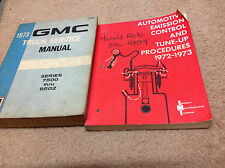 1973 GMC Truck 7500 Series thru 9502 Service Repair Workshop Shop Manual Set OEM