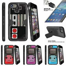 "For Apple iPhone 7 (4.7"") Clip Stand Case + Tempered Glass Game Controller"