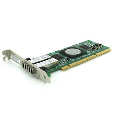 QLogic 4GB PCI-X Dual Fiber Channel HBA Adapter Card QLA2462 FC2410401
