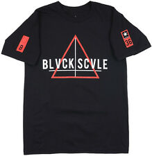 Black Scale Team T-Shirt BLVCK SCVLE Men's Regular Fit Streetwear Triangle Top