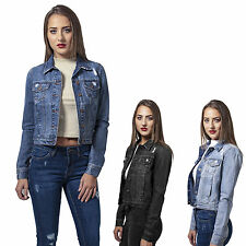 URBAN CLASSICS LADIES DENIM DENIM JEANS JACKET DENIM JACKET SUMMER SPRING XS-XL
