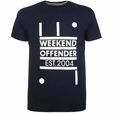 WEEKEND OFFENDER MOVEMENT T SHIRT NAVY NEW ORDER FACTORY RECORDS JOY DIVISION