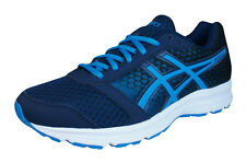 Asics Patriot 8 Mens Running Trainers / Shoes - Navy
