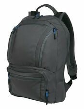 """Port Authority CYBER Mens 15"""" Laptop Sleeve Zippered Pockets Backpack Bag NEW"""