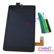 """Black LCD w/ Touch Screen Part + Tools for Dell Venue 7 3730 T01C 7"""" Tab ZYLQ022"""