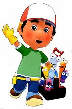 """7-10.5"""" HANDY MANNY WALL STICKER GLOSSY BORDER CHARACTER CUT OUT"""