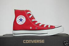 New All Star Converse Chucks Hi Trainers Shoes Red M9621 Gr.37