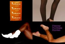 FOOTLESS Pantyhose Peavey Tamara LT Support Pic Sheer Hooters Uniform Lingerie