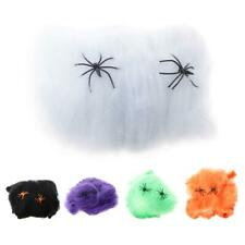 Bar Party Haunted House Halloween Decoration Prop Spider Web Spider Cotton