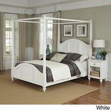 Bermuda Canopy Bed and Two Night Stands by Home Styles