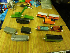 TOMY TRACKMASTER BUNDLE OF THOMAS BATTERY TRAINS AND TRUCKS