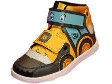 Kids Boys JCB Joey Digger Cartoon Character Casual Work Style Boot Shoe 62676