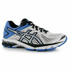Asics GT1000 v4 Running Shoes Womens White/Blue Run Fitness Trainers Sneakers