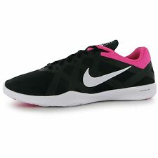 Nike Lunar Lux TR3 Training Shoes Womens Black/Silver/Pink Gym Trainers Sneakers