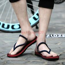 Mens summer flip flops Walking Thong Sports Casual hiking Beach Sandals Shoes