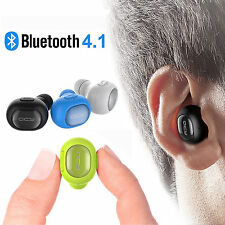 Noise Canceling Wireless Stereo Bluetooth Headset Headphone Earbud For HTC LG G5