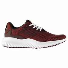 adidas Alpha Bounce Running Shoes Mens Maroon/Wht Trainers Sneakers Sports Shoe
