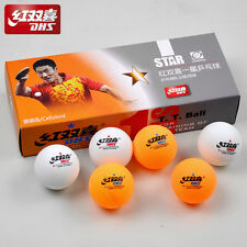 NEW Package DHS Table Tennis Balls 1 Star Ping Pong Official Training Games Ball