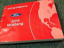 2015 FORD MUSTANG Wiring Electrical DIAGRAM Manual OEM EWD 2015 FORD
