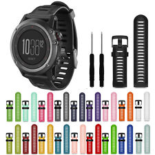 Silicone Replacement Wrist Band Bracelet Strap For Garmin Fenix 3/HR Candy Color