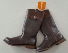 NWT Gymboree Girls 9 13 2 Tall Riding Boots BROWN Fall BACK TO BLOOMS    #762317
