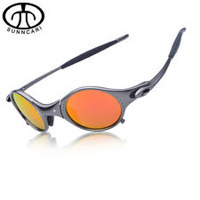 SUNNCARI Men Polarized Cycling Glasses Alloy Frame Sport Riding Eyewear CP001-4