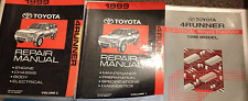 1999 Toyota 4RUNNER 4 RUNNER Service Shop Repair Workshop Manual Set W EWD OEM