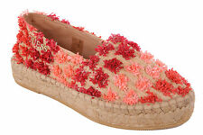 Guess Ladies Slip-on shoes Slippers Sandals Natural/Red #747