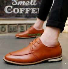 Fashion mens casual lace up Dress Oxfords formal business Shoes size pointy toe