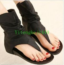 Womens Flip-Flops Sandals Shoes wedge heels Gladiator high top Ankle Boots New Y