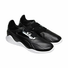 Puma Mostro Mfw Mens Black Leather Strap Slip On Sneakers Shoes