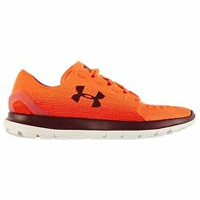 Under Armour Speedform SlingRide Fade Running Shoes Mens Or/Rd Trainers Sneakers