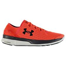 Under Armour Speedform Turbulence Running Shoes Mens Or/Wht Trainers Sneakers