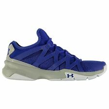 Under Armour Charged Phenom 2 Running Shoes Mens Blue/Wht Trainers Sneakers