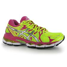 Asics Gel Nimbus 16 Running Shoes Womens Yel/Pnk Trainers Sneakers Sports Shoe