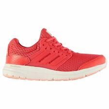 adidas Galaxy 3 Trainers Womens Pink/White Sneakers Sports Shoes Footwear