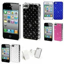 For Apple iPhone 4/4S Executive Hard Case Diamonds Phone Cover