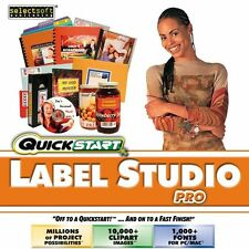 QuickStart Label Studio Pro PC Windows XP Vista 7 8 10 MAC Sealed New